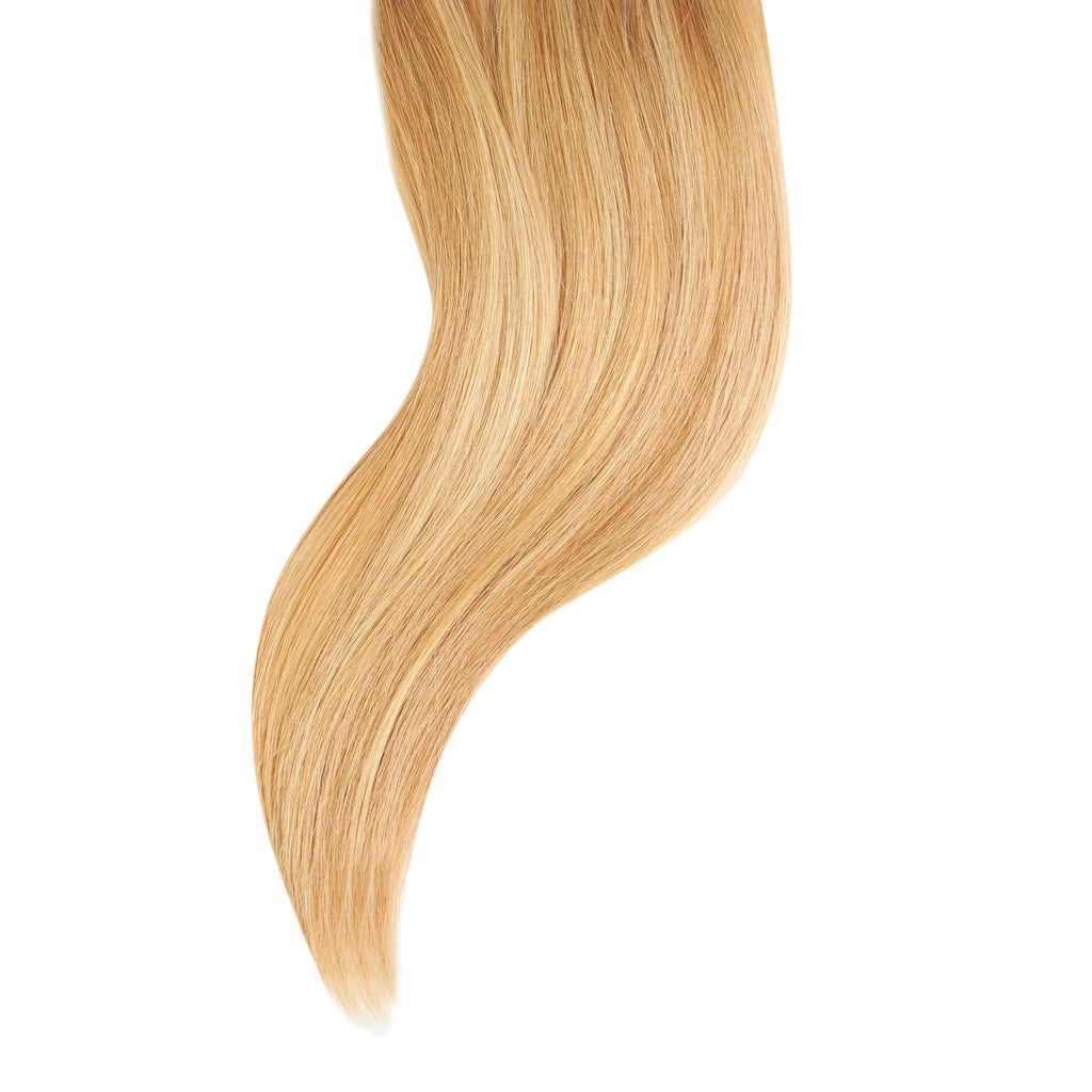 "Tape In Natural Hair Extensions. BARCELÓ Professional Tape-In 18"" -   Tape-In 24"" Golden Blonde Highlights (9/25) Natural Straight Hair Extensions. USA NEXT WORKING DAY DELIVERY ..."