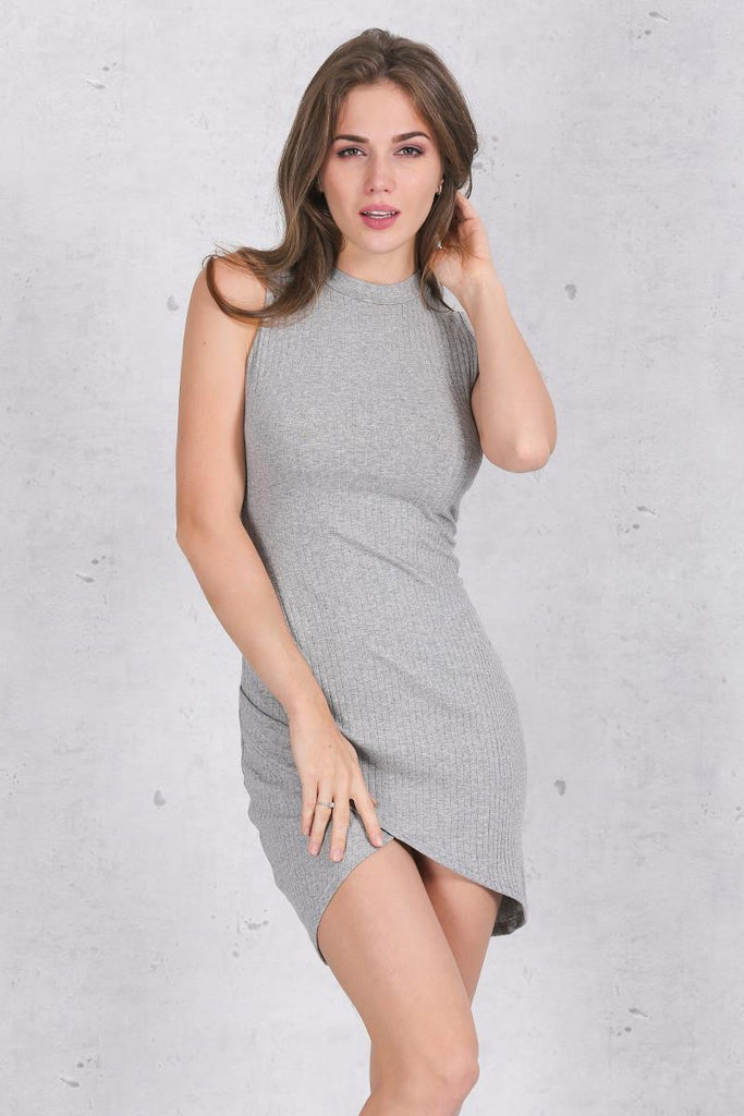 Sleeveless Knitted Casual Dress - Les Bijouteries Ladies Fashion, Online Fashion, Dresses, Dresses Online, New Trends, Party Dresses, Maxi Dresses, Club Dresses, Office Dresses, Street Style, Girls Dresses