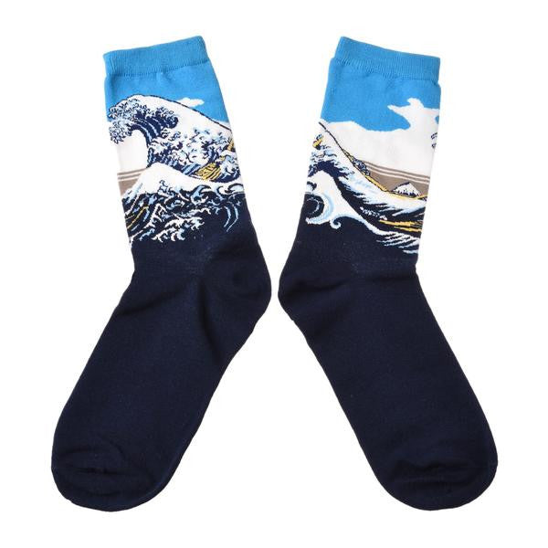 The Great Wave' by Hokusai | Socks - Les Bijouteries Ladies Fashion, Online Fashion, Dresses, Dresses Online, New Trends, Party Dresses, Maxi Dresses, Club Dresses, Office Dresses, Street Style, Girls Dresses, Womens Fashion, Fashion USA, Hot Fashion, Sexy Dresses