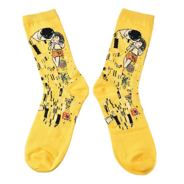 The Kiss' by Gustav Klimt | Socks - Les Bijouteries Ladies Fashion, Online Fashion, Dresses, Dresses Online, New Trends, Party Dresses, Maxi Dresses, Club Dresses, Office Dresses, Street Style, Girls Dresses, Womens Fashion, Fashion USA, Hot Fashion, Sexy Dresses