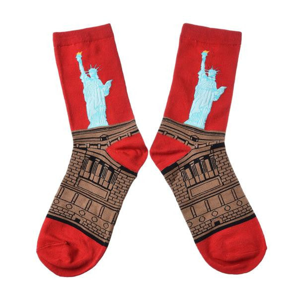 Statue of Liberty | Mens Socks - Les Bijouteries Ladies Fashion, Online Fashion, Dresses, Dresses Online, New Trends, Party Dresses, Maxi Dresses, Club Dresses, Office Dresses, Street Style, Girls Dresses, Womens Fashion, Fashion USA, Hot Fashion, Sexy Dresses