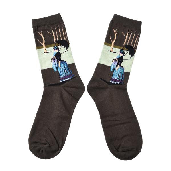 Famous Art Socks A Sunday Afternoon The Island of La Grande Jatte - Les Bijouteries Ladies Fashion, Online Fashion, Dresses, Dresses Online, New Trends, Party Dresses, Maxi Dresses, Club Dresses, Office Dresses, Street Style, Girls Dresses, Womens Fashion, Fashion USA, Hot Fashion, Sexy Dresses