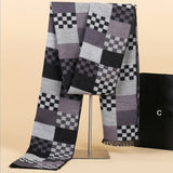 Long Men's Geometric Scarf - Les Bijouteries Ladies Fashion, Online Fashion, Dresses, Dresses Online, New Trends, Party Dresses, Maxi Dresses, Club Dresses, Office Dresses, Street Style, Girls Dresses, Womens Fashion, Fashion USA, Hot Fashion, Sexy Dresses - 4