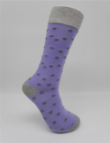 Colorful Dot Men's Cotton Socks