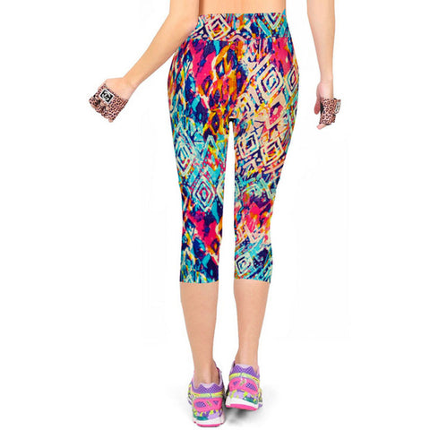 Jazzy  Capris Leggings