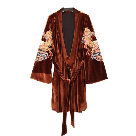 Biker Girl Lounge Robe