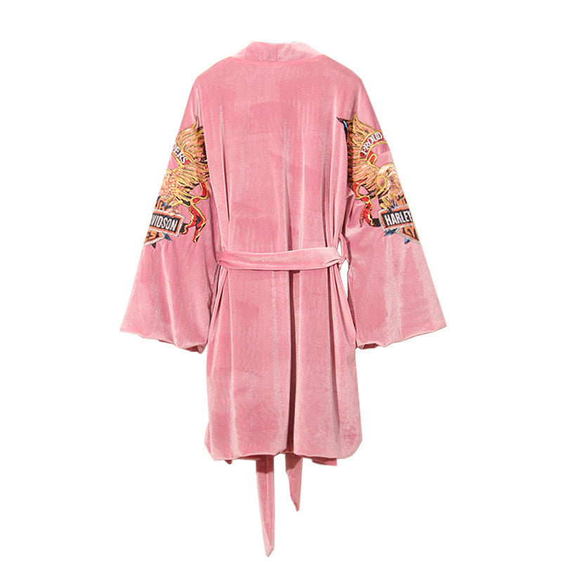 Biker Girl Lounge Robe - Les Bijouteries Ladies Fashion, Online Fashion, Dresses, Dresses Online, New Trends, Party Dresses, Maxi Dresses, Club Dresses, Office Dresses, Street Style, Girls Dresses