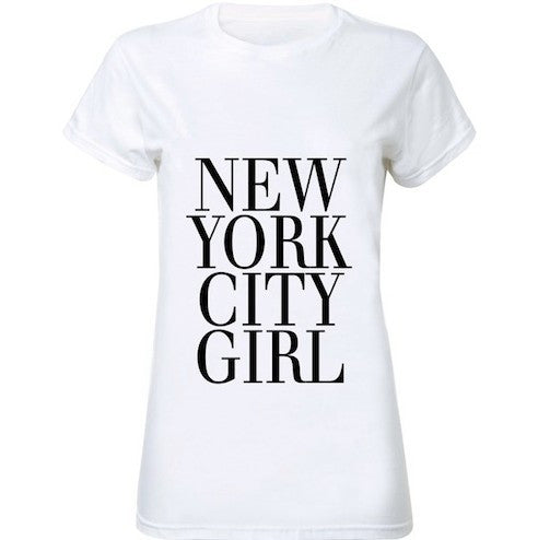 New York City Girl Women T-Shirt - Les Bijouteries