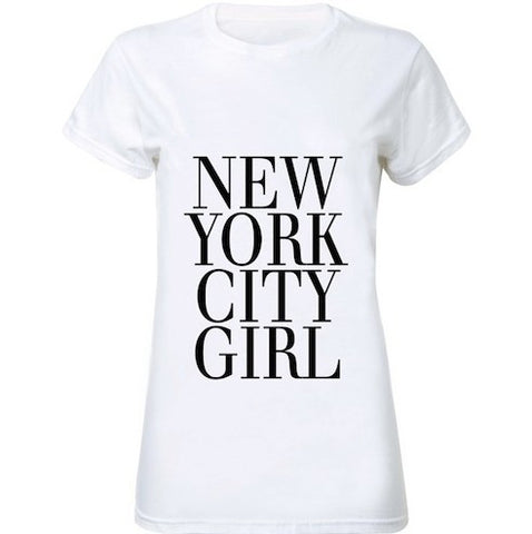 New York City Girl Women T-Shirt