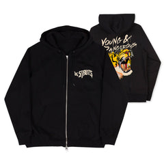 Young & Dangerous Black Zip Hoodie