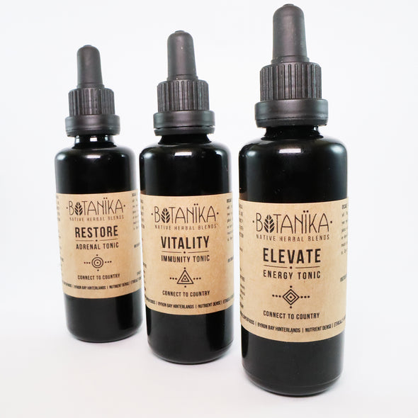 Wellness Package 3 x Tonics - 50ml | Botanika Herbals
