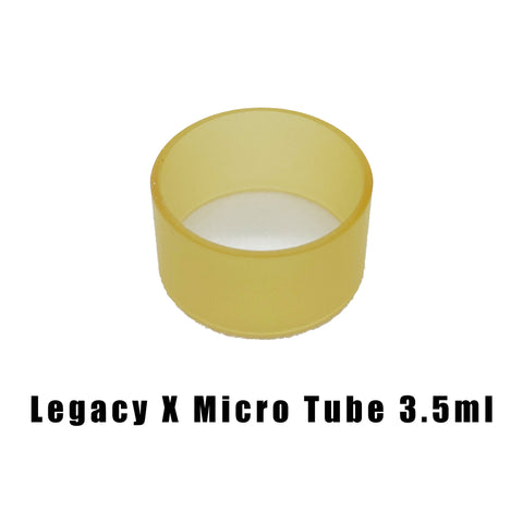Hussar vapes - Legacy X Micro Tube 3.5ml Ultem Frosted