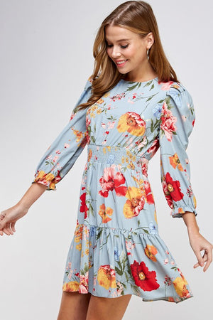 Romantic Floral Dress