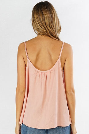 Blush Boutique - Button Front Camisole