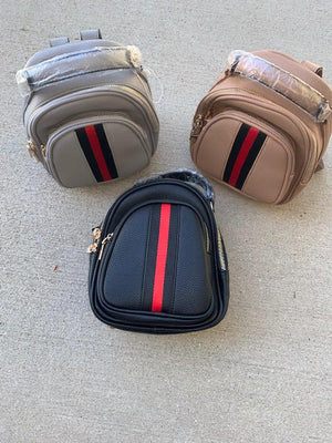 Blush Boutique - Racing Stripe Backpack
