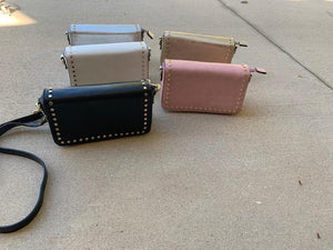 Blush Boutique - Studded Wallet Crossbody