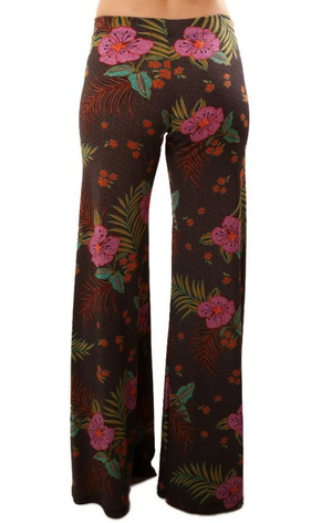 Veronica M Floral Wide Leg Pants