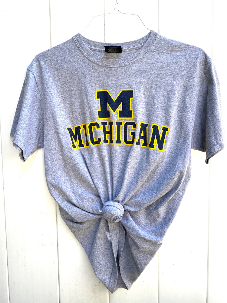 Michigan Grey Tee