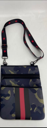 Camo Neoprene Crossbody Bag