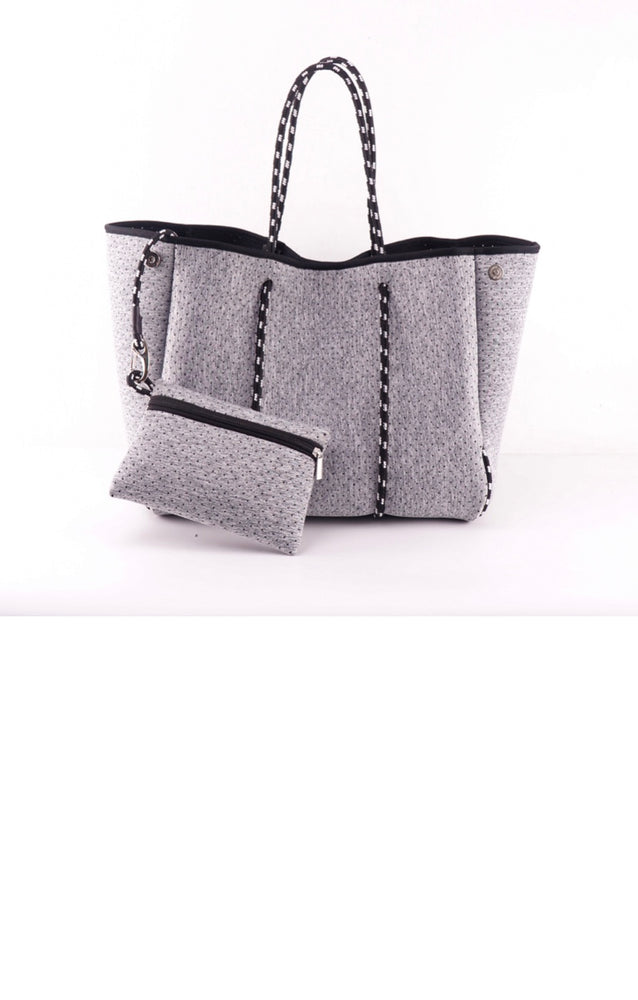 Grey Fancy Neoprene Tote