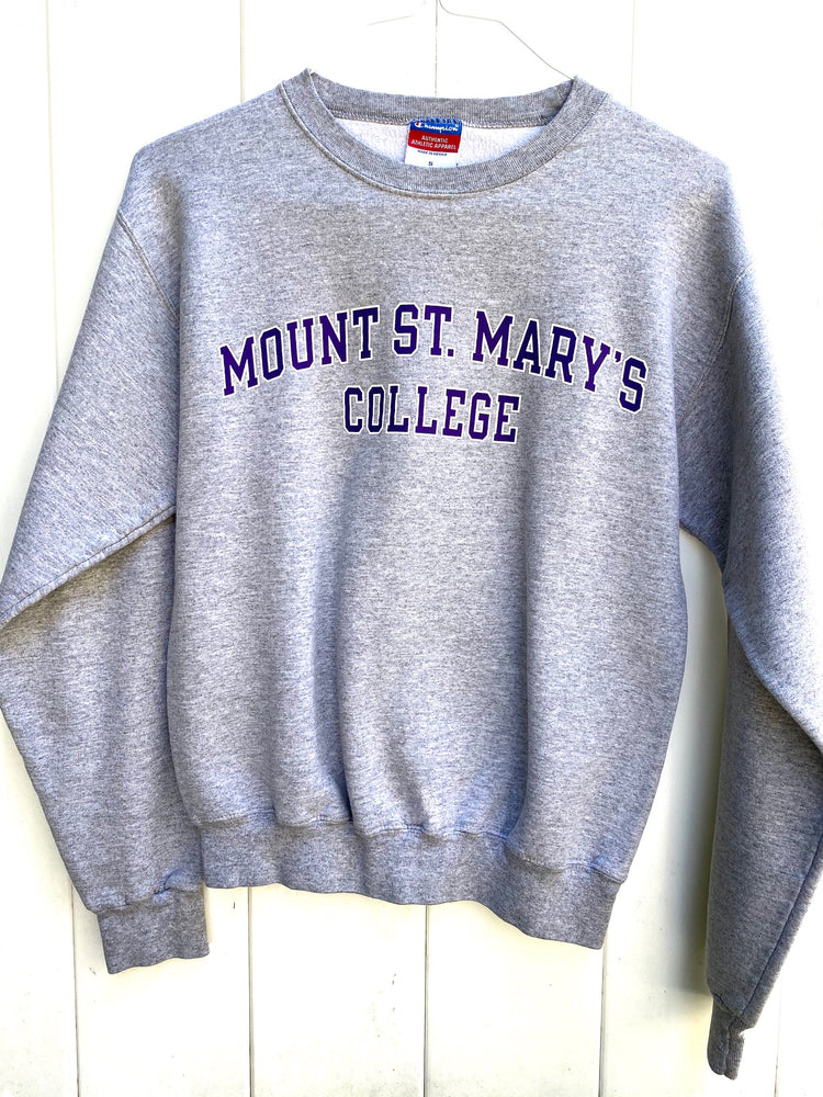 Mount Saint Mary's Grey Sweater