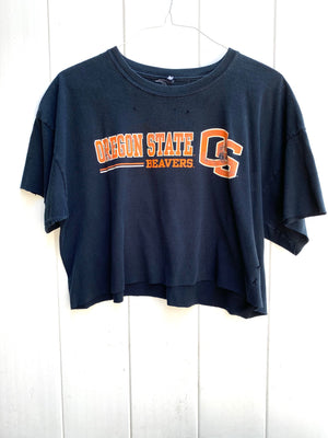 Oregon State Beavers Cropped Tee