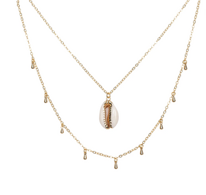 A Marie Puka Shell Necklace