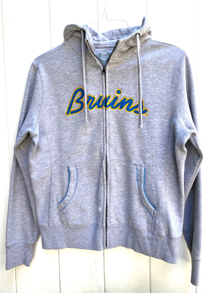 UCLA Bruins Grey Zip-up Sweater