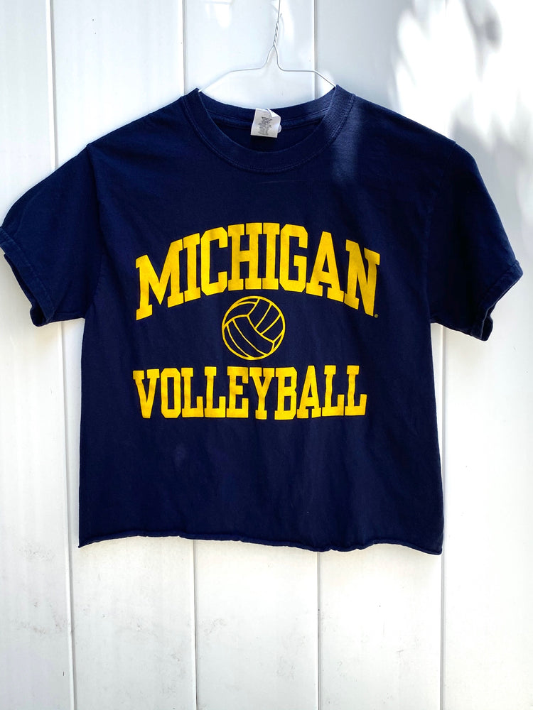 Michigan Volleyball Tee