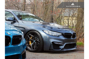 AUTOTECKNIC CARBON COMPETITION FRONTSPOILERLIPPE BMW F80 M3 F82/F83 M4 - Boden Visuals