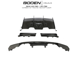 BMW M3 F80 M4 F82 CARBON GT RACING HECKDIFFUSOR - Boden Visuals