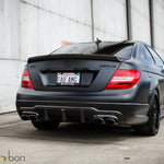 Mode Carbon LUFTSTROM REAR DIFFUSER Mercedes-Benz C204 W204 C63 AMG - Boden Visuals