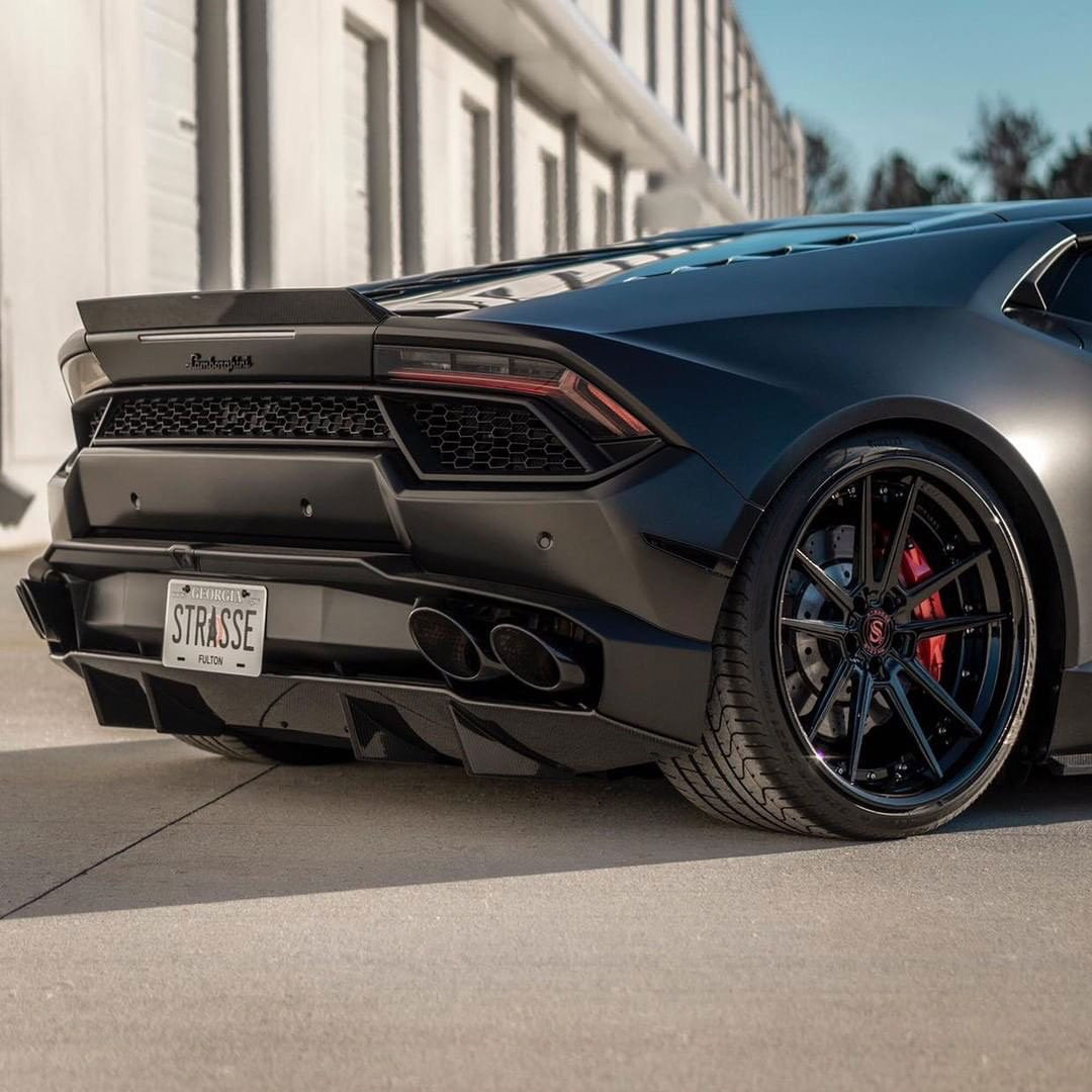 RSC TUNING CARBON REAR SPOILER LIP LAMBORGHINI HURACAN LP610 LP580 - Boden Visuals