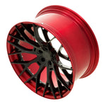 YIDO PERFORMANCE WHEELS | YP 8.2 FORGED | GLOSS BLACK/CANDY RED LIP - Boden Visuals