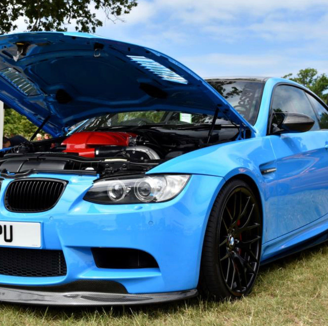 PSDesigns E9X M3 Carbon GTS V1 Frontspoilerlippe - Boden Visuals