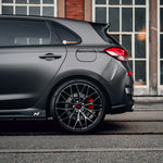 YIDO PERFORMANCE WHEELS | YP3 | GLOSS BLACK TINT - Boden Visuals