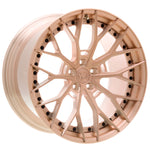 YIDO PERFORMANCE WHEELS | YP 8.2 FORGED | BRUSHED ROSE - Boden Visuals