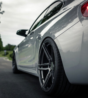 YIDO PERFORMANCE WHEELS | YP-FF1 FLOWFORGED | GUNMETAL - Boden Visuals