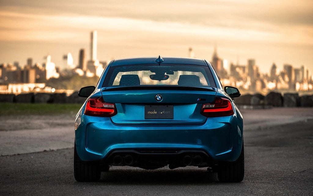 Mode Carbon PERFORMANCE SPOILER BMW M2 F87 - Boden Visuals