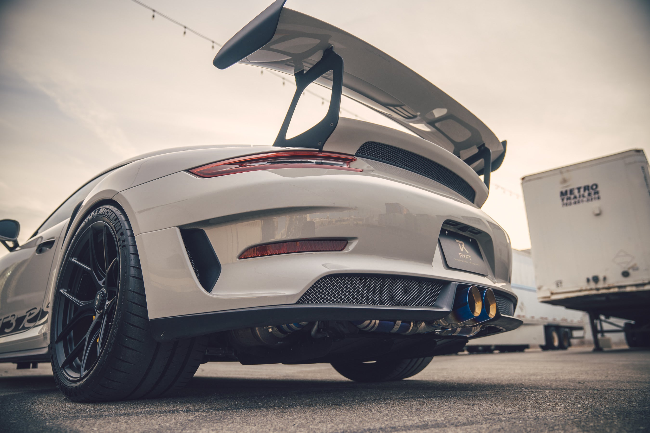 RYFT PORSCHE 991.1/2 GT3 RS TITAN FINAL PERFORMANCE ABGASANLAGE - Boden Visuals