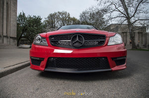 Mode Carbon P31 FRONT LIP Mercedes-Benz C204 C63 AMG - Boden Visuals