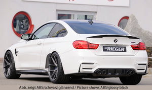 Rieger Tuning BMW M3 F80 M4 F82 Heckdiffusor - Boden Visuals