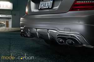Mode Carbon P31 REAR DIFFUSER Mercedes-Benz C204 W204 C63 AMG - Boden Visuals