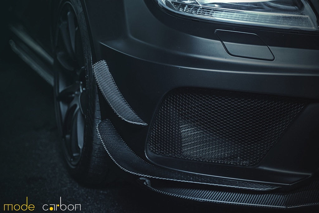 Mode Carbon BLACK SERIES CANARDS Mercedes-Benz C204 C63 AMG Black Series - Boden Visuals