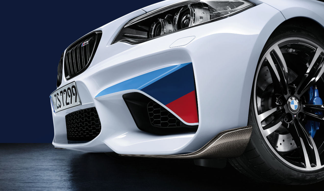 BMW M Performance Frontaufsatz Carbon M2 F87 - Boden Visuals
