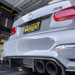 Mode Carbon TROPHY R1 REAR DIFFUSER FORGED CARBON BMW M3 F80 M4 F82 - Boden Visuals