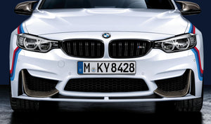 BMW M Performance Frontaufsatz Carbon links/rechts M3 F80 M4 F82 F83 - Boden Visuals