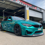 PeParts BMW M3/M4 F8x M-Style Frontlippe Carbon - Boden Visuals