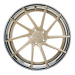 YIDO PERFORMANCE WHEELS | YP 3.2 FORGED | ROYAL GOLD/POLISHED LIP - Boden Visuals