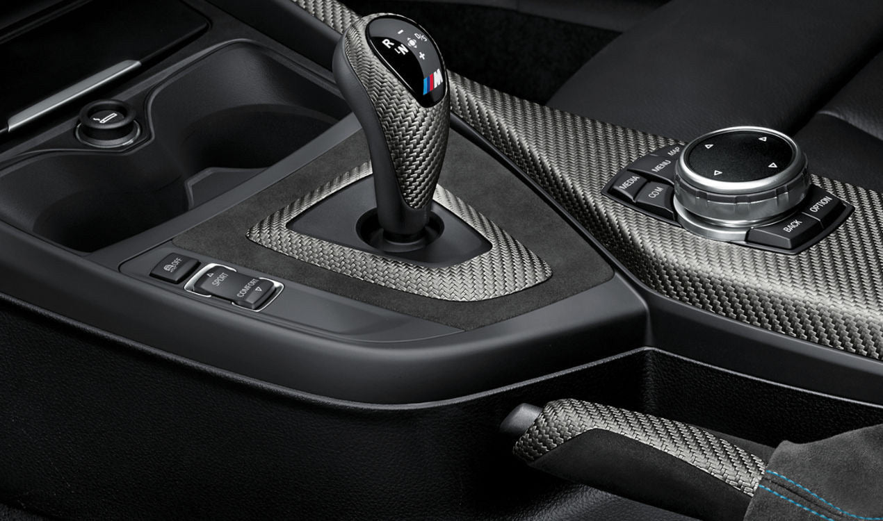 BMW M Performance Interieur Kit Carbon/Alcantara M2 F87 - Boden Visuals